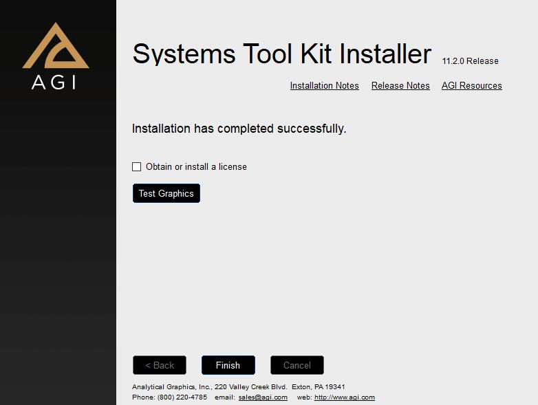 آموزش نصب نرمافزار STK 11.2
