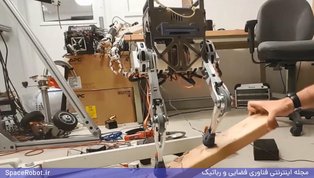 تعادل ربات MIT با کمک تعادل انسان