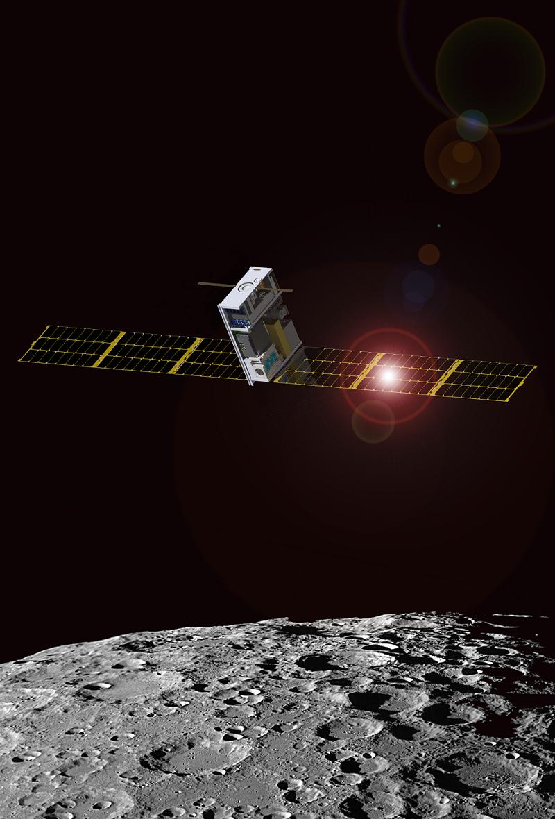 مأموریت Lunar IceCube، تاسوارهای برای ماه